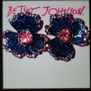 Betsey Johnson Blooming Betsey Studs
